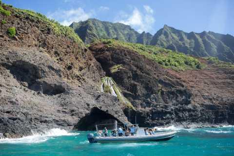 Na Pali: Coastal & Snorkel Adventure with Breakfast & Lunch