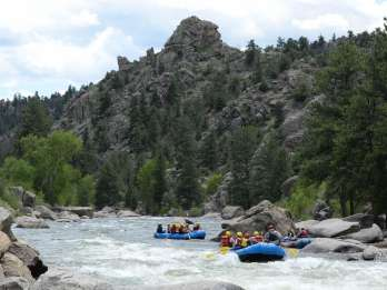 Buena Vista: Browns Canyon Wildwasser-Rafting-Abenteuer