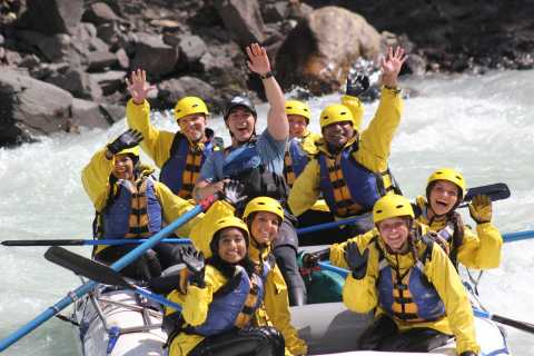 Kicking Horse River: Traditional 5-Hour Whitewater Rafting