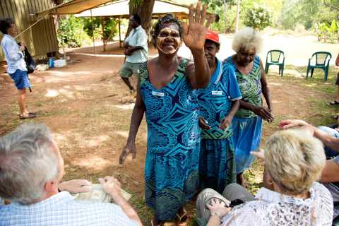 From Darwin: Tiwi Islands Aboriginal Culture Tour with Lunch