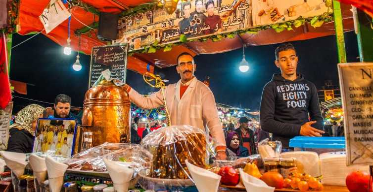 Marrakesh: 3-Hour Food Tasting and Walking Tour