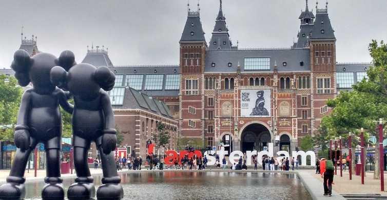 Amsterdam: tour privato di mezza giornata con un locale