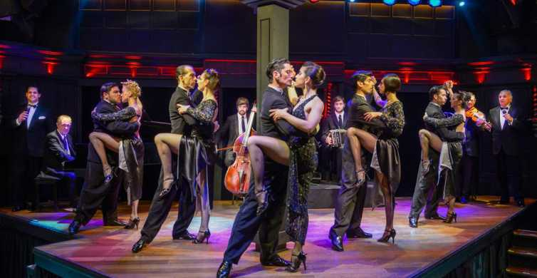 Buenos Aires: El Querandí Tango Show with Optional Dinner