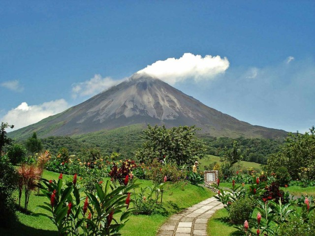 San Jose: Arenal Hanging Bridges & Baldi Hot Springs Tour