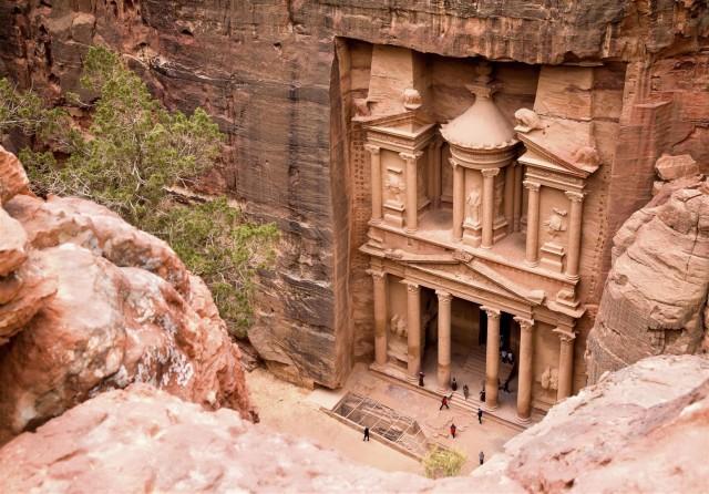 Van Aqaba: Petra 1-daagse tour