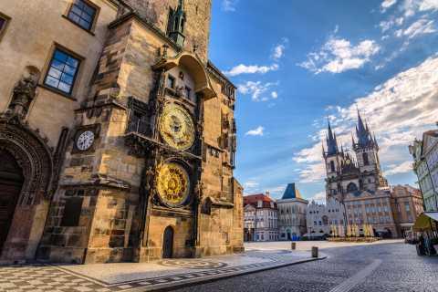 Prague: visite de la ville en bus, en bateau et à pied