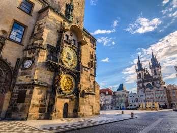 Prag: Tour mit Bus, Boot und zu Fuß