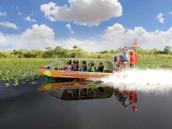 Ab Miami: Halbtägige Sumpfbootfahrt & Wildtier-Show