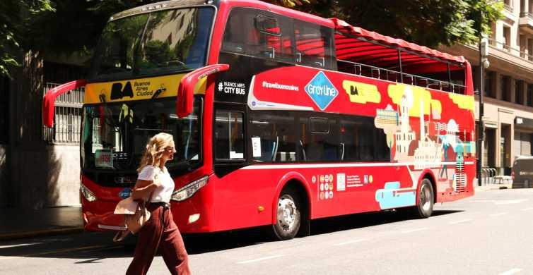 Buenos Aires: tour por la ciudad en autobús turístico