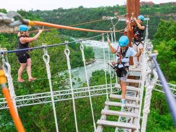 Niagarafälle, Kanada: Whirlpool Adventure Ropes Course