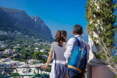De Sorrento: Excursão privada guiada a Capri e Anacapri
