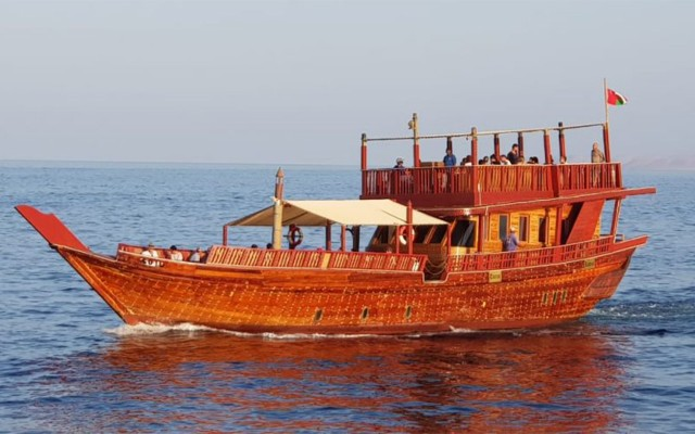 Muscat: Sunset Cruise op een traditionele Dhow
