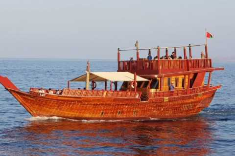 Muscat : Sunset Cruise on a Traditional Dhow