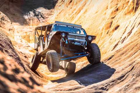 Moab: Hells Revenge Trail Off-Roading Adventure