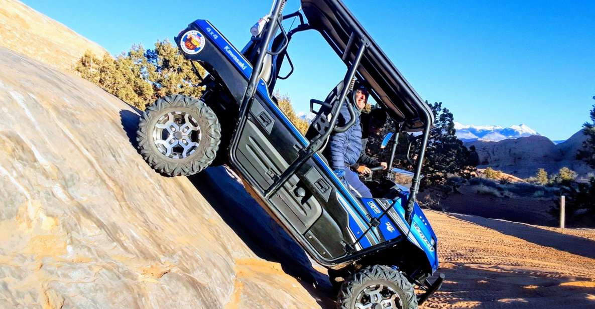 Moab: Self-Drive 2.5-Hour Hells Revenge 4x4 Guided Tour