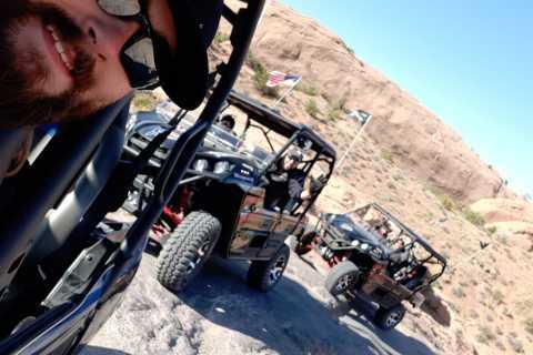 Moab: self-drive 2,5 uur durende Hells Revenge 4x4-rondleiding