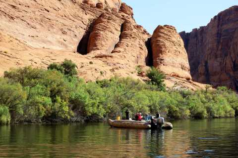 Grand Canyon: Glen Canyon and Horseshoe Bend Raft Trip