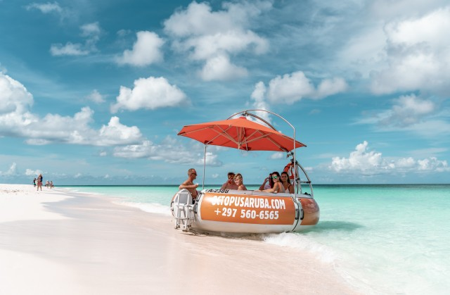 Aruba: Aqua Donut Boat Rental