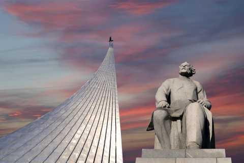 Moscou: visite guidée du métro et du musée de la cosmonautique
