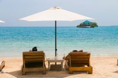 Cartagena: Praia Particular nas Ilhas do Rosário