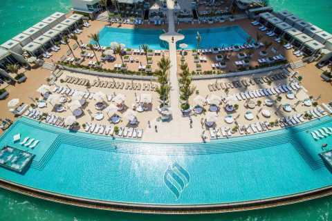 Burj Al Arab: Pool Access and 3-Course Lunch at Scape for 2