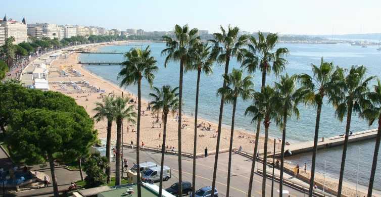 Von Nizza: Private Halbtagestour nach Cannes und Antibes