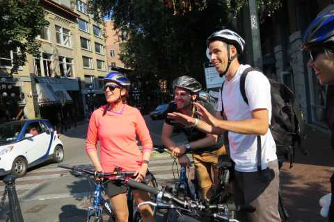 Vancouver Bike Tour: Gastown, Chinatown, Granville Island