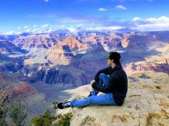 Ab Las Vegas: Geführte Grand Canyon-Tour mit mehreren Stopps