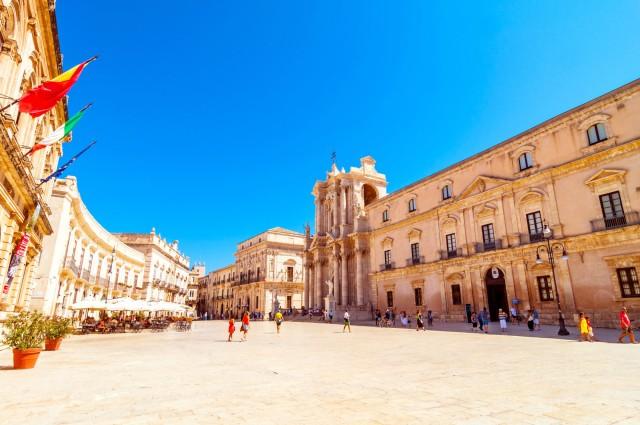Taormina: Siracusa en Noto-tour met kleine groepen met lunch
