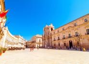 Taormina: Kleingruppen-Siracusa- und Noto-Tour mit Mittagessen