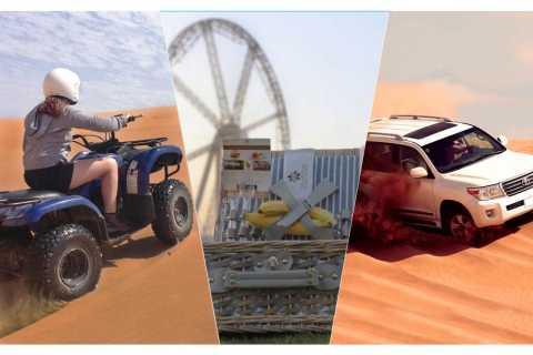 Dubaï: safari, parcours dans les dunes, quad et brunch