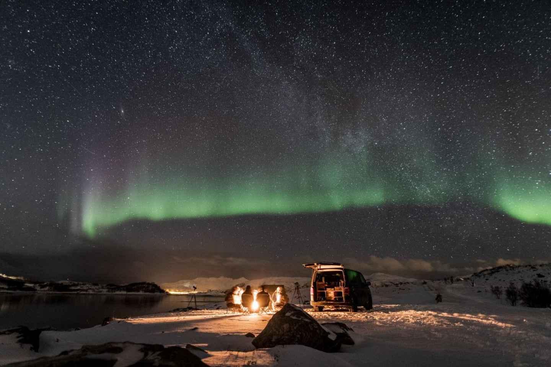 Tromsø: 4x4 Kleingruppen-Nordlicht-Fototour