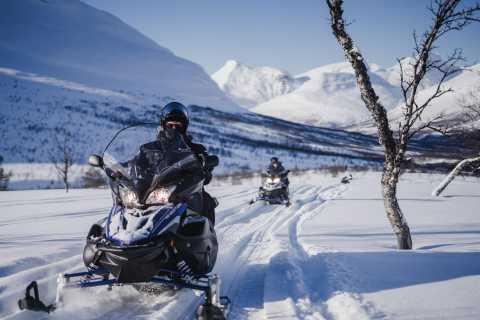 Tromsø: Wilderness Snowmobiling, Ice Domes & Reindeer Visit