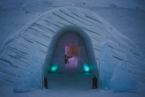 Tromsø: Ice Domes Guided Tour and Reindeer Visit