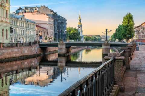 St. Petersburg: Rivers and Canals Boat Excursion
