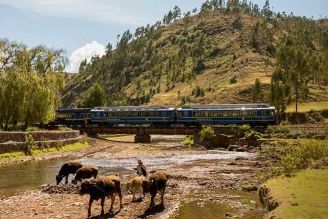 De Ollantaytambo: bilhete de trem de ida e volta para Aguas Calientes