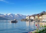 Von Como: Drei-Seen-Tour nach Ascona, Lugano und Bellagio