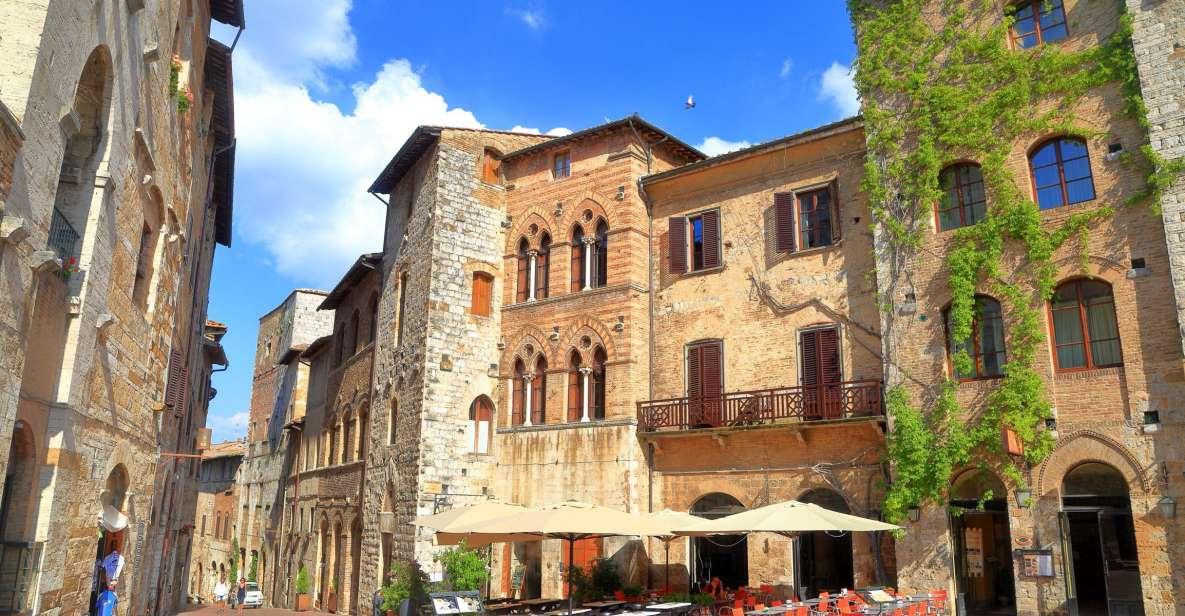 Desde Florencia: excursión a la Toscana con almuerzo y vino