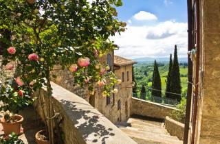 Ab Florenz: Toskana Tagestour - optional Mittagessen & Wein