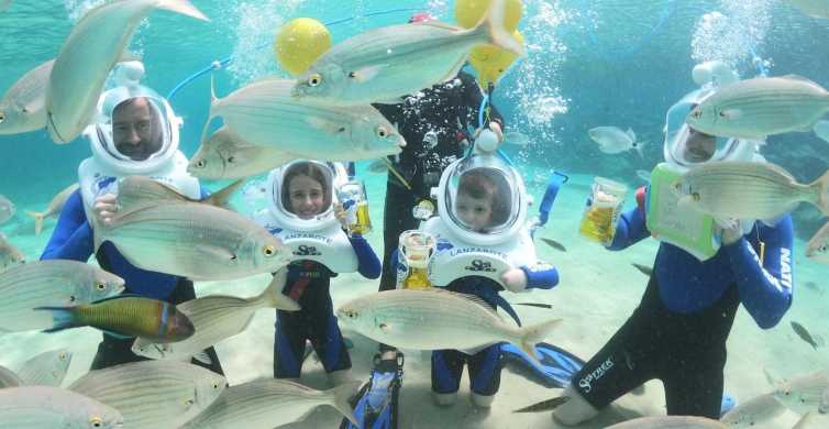 Lanzarote: Underwater Sea Trek Experience