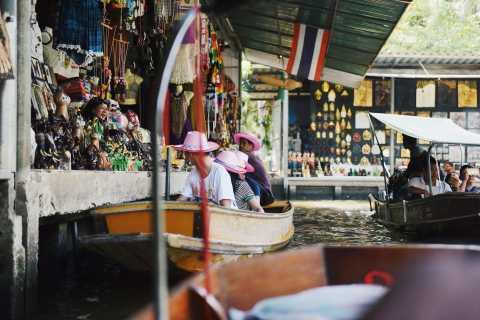 Bangkok: mercado de Damnoen Saduak y mercado de Mae Klong