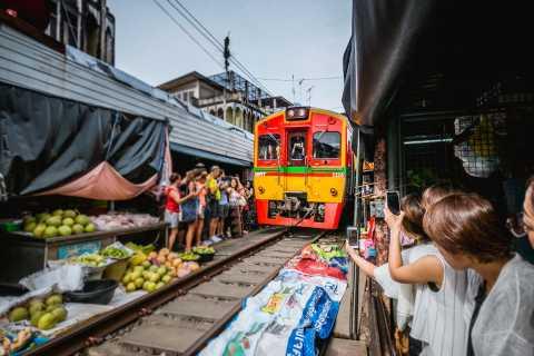 Bangkok: marchés de Damnoen Saduak et Maeklong