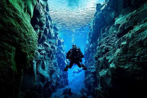 Aus Reykjavik: Tauchen in Silfra mit Unterwasserfotos