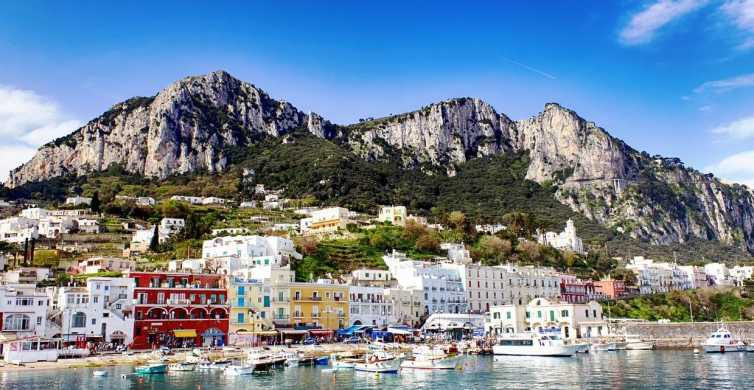 From Naples: Capri Day Trip with Lunch