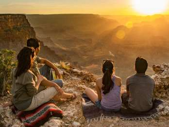 Von Tusayan: Grand Canyon Desert View Sonnenuntergangstour