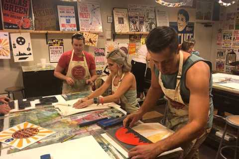 Nashville: Hatch Show Print Exclusive Printmaking Party