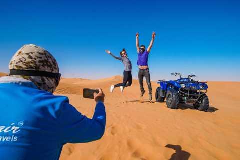 Desierto Dubái: quad, paseo en camello, sandboarding y BBQ