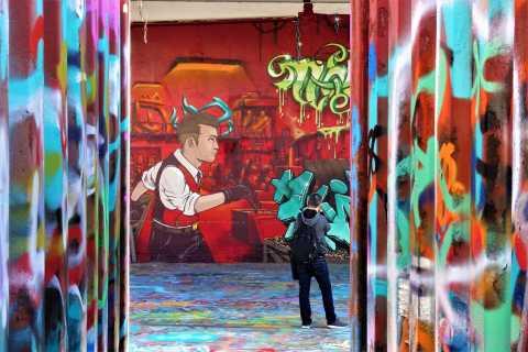 París: recorrido en bicicleta por el museo de arte callejero al aire libre