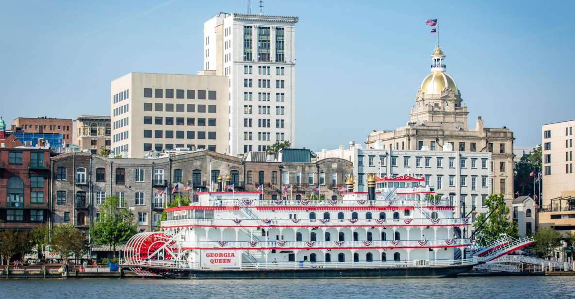 Savannah Riverboat: Fortalt havn Sightseeing Cruise