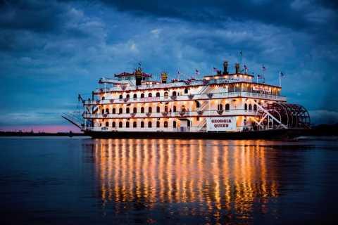 Savannah Riverboat: Dinner Cruise mit Unterhaltung